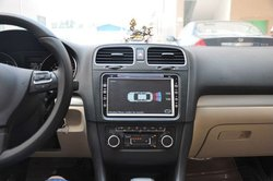8 inch vw car dvd gps with phonebook for VW universal - Popular Worldwide
