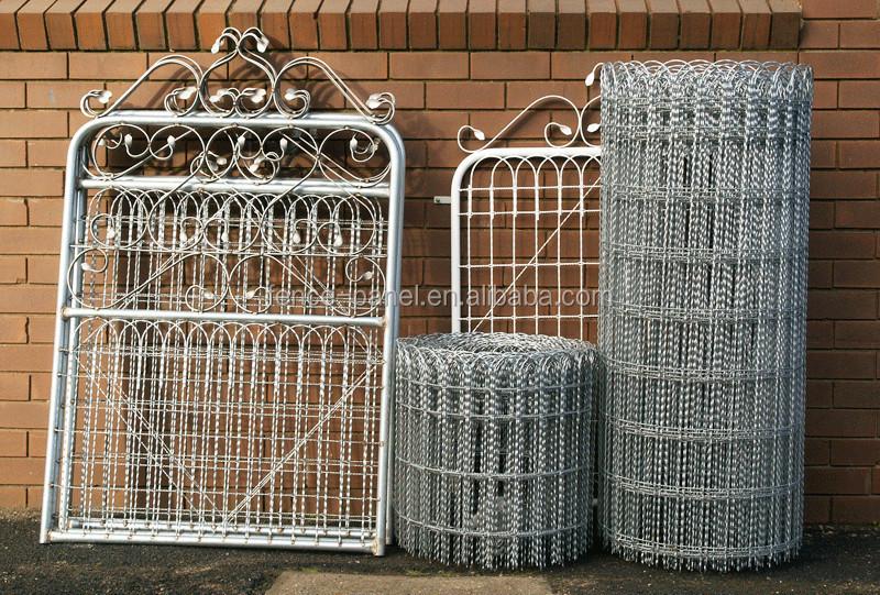 Großzügig Ornamental Wire Fencing Materials Bilder - Elektrische ...