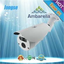 1st Ambarella IP Camera 3.0MP, P2P, POE Optional, SONY CMOS, Bullet Camera, Array LED, Onvif, IP66 - LBG60A300