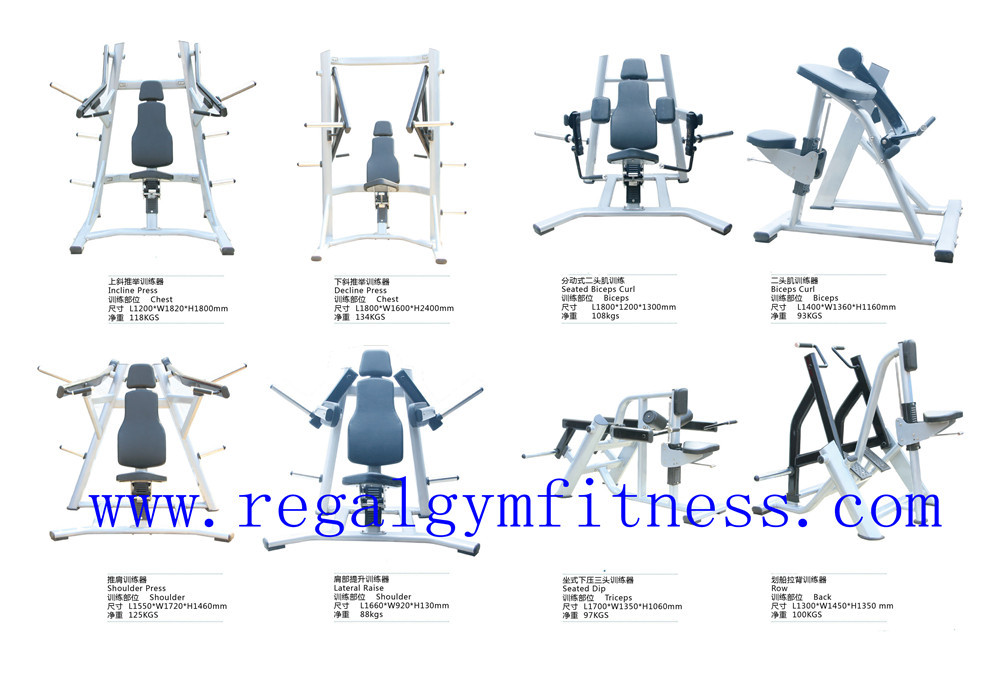 Lateral Raise Exercise Equipment Names Plate Load Gym Machine