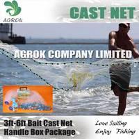 3ft Lead Sinker Cast Net