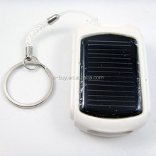 Hot selling portable 410mah solar power charger with keyring in Japan