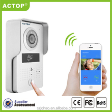 2015 new WiFi Hot selling Original new & High quality wireless wifi ip video door phone