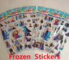 Newest Eco-friendly Transparent PVC 3D Cartoon Puffy Foam Sticker for Kids