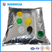 aseptic plastic bag in box