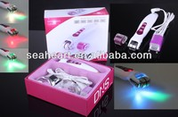 2015 Nano Photon Led Derma Roller For Eye Treatment With Two Kinds Of Replaceable Roller Head