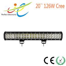 20inch 126W Cree dual row offroad LED light bar