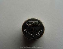 Mercury-Free Environmental AG3 L736 LR41 Alkaline button cell