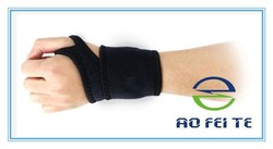 Neoprene Wristband Brace Protector Supports Straps Sports Gym Tennis Pain Injury