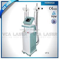 VCA Wrinkle removal Infrared laser+Roller system+Vacuum liposuction Beauty Machine V8