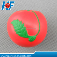 pu cherry fruit shape antistress for promotional gifts