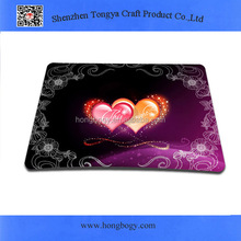 Heart promotion cheap mouse pads for computer
