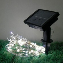 New Multi-Function Flashing Holiday Solar Energy Saving 80 LED String Lights