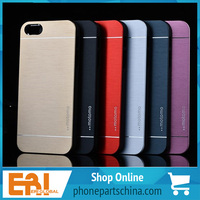 full protect eco-friendly mobile phone aluminum case for iphone 5 5s hard cover non-toxic