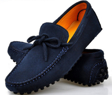 US Size 5-11 NEW Suede Leather Lined Mens Driving Moccasin Loafer Shoes(BH15090006)