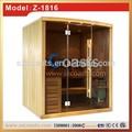 2~4people chino de la fábrica de madera de cedro rojo sauna baño de vapor