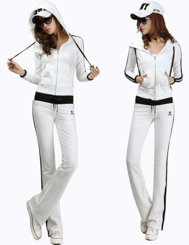 Oem Plain Sweat Suit Cotton Fleece Jogging Suit Women ...
