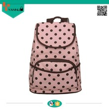 2015 stylish top selling wholesale solar contracted small skull cute canvas backpacks for school girls high quality preppy