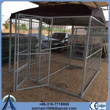 outdoor or galvanized comfortable silver dog crate kennel