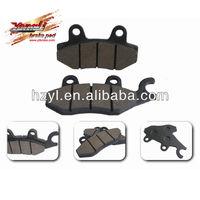 motorcycle semi-metallic brake disc pad for sale