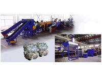 PE PP PET film washing extrusion line/ Plastic recycling machine