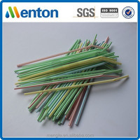 zhe jiang exported hard striped flexible drinking straw