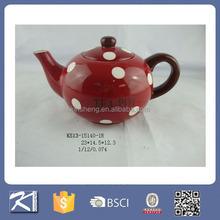 High quality porcelain personalized tea pots for sale