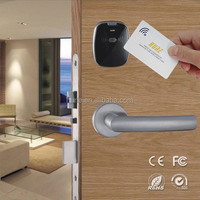 novel design security intelligent electronic card lock system