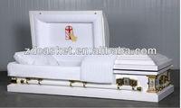 Crepe interior 18 gauge metal casket(1801)