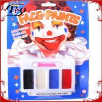 Halloween fancy dress party non-toxic make up face paint set
