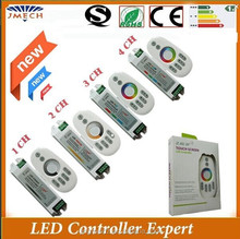 Hot sell 2.4G RF Touch RGB LED Controller Led Dimmer Temperature LED Controller from Factory