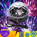 2015 New Arrival 20 W levou bola de cristal mágica luzes do Disco de luz Mirror Ball