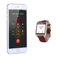 Fashionable stand by long time ultrathin simple X2 wrist watch celular phone