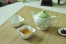 Cearmic Coffee Set, Ceramic Espresso Cup with decal, Ceramic Tea Cup in Flower Shape
