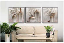 Decorative 3d wall hanging Pictures 3d Vase picture home decorative
