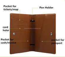 PU cover passport holder,air tickets holder NS-1134