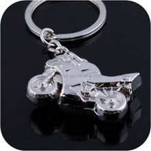 2014 Custom Cheap Zinc-alloy Motorcycle Metal Keychain for gift