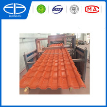 ASA PVC synthetic rsin roof tile on sale with high quality