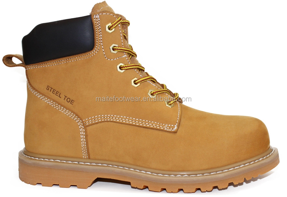 High Quality Nubuck Leather Safety ShoesCE Standard