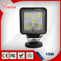 OEM&ODM 4.3 inch10V-30V car accessory 15w led work light offroad driving light spot led beam car