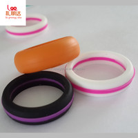 Wholesale Promotion Giveaways Cheap Custom Silicone Finger Ring, Silicone wedding ring for man and woman