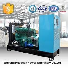 50kw Nature gas/biogas/gas generator with stamford alternator