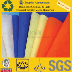 Wholesaler Fabric Supply 100%pp spunbond polypropylene nonwoven