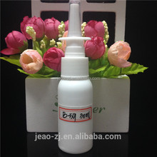 EXW!!cosmetic 30ml HDPE crystal spray pump/nasal perfume bottle