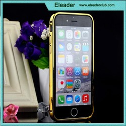for iphone 6 Luxury Aluminum Ultra-thin Mirror Metal Case Cover