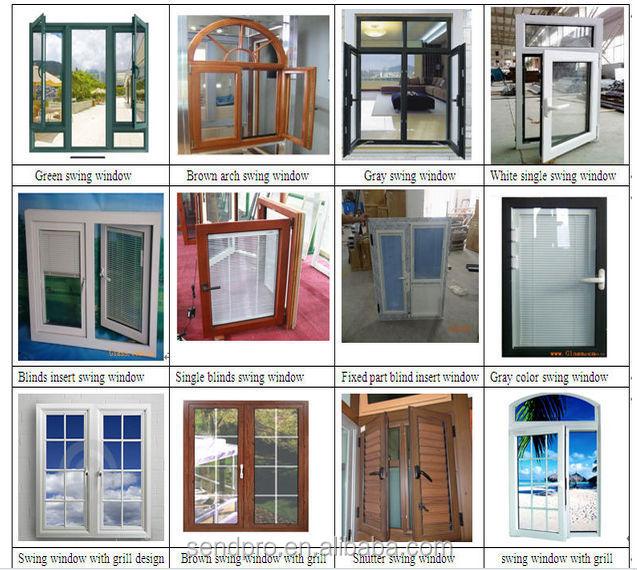 Aluminum Peddinghaus Factory Singapore: Lowest Price Aluminum Profile Sliding Windows With Black