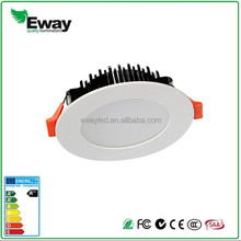 10W 3 types in one fitting led dimmable downlight CE, SAA