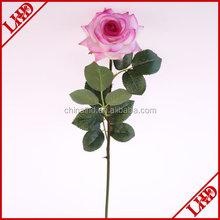 artificial single stem rose flower