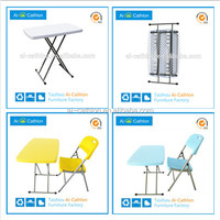 Folding study table,folding bed study table and chair set