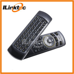 New updated! 2.4g wireless fly mouse keyboard combo IR learning remote for Android TV box